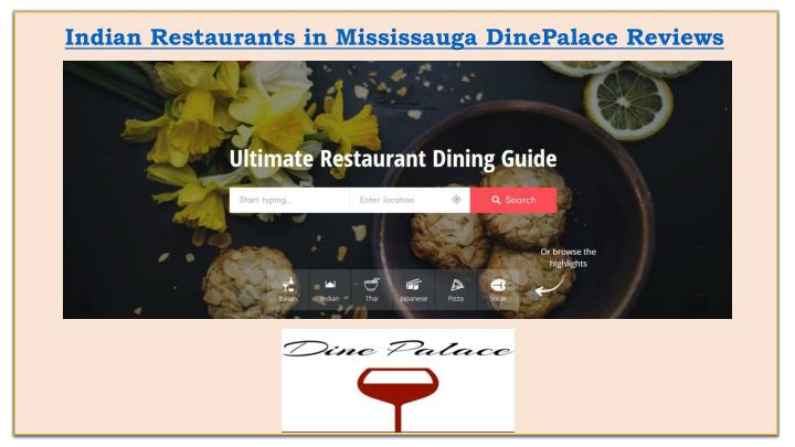 Indian Restaurants in Mississauga
