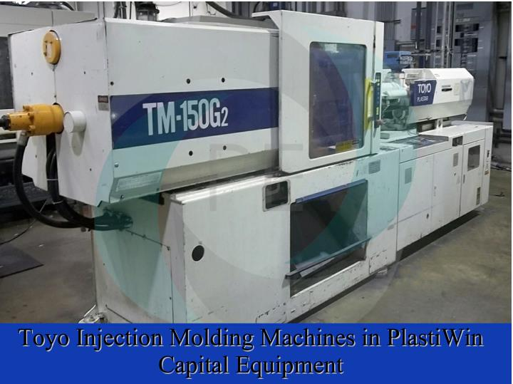 Toyo Injection Molding Machines in PlastiWin