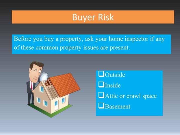 Buyer risk