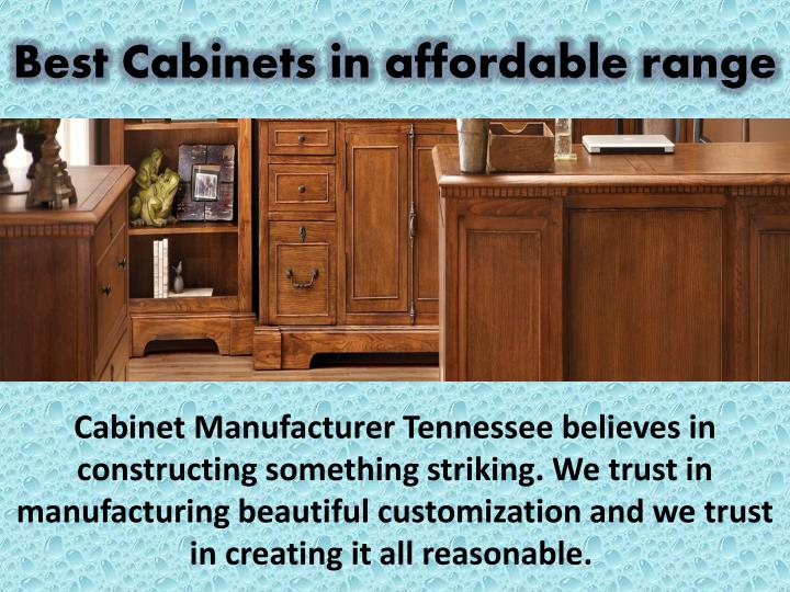 Best Cabinets in affordable range
