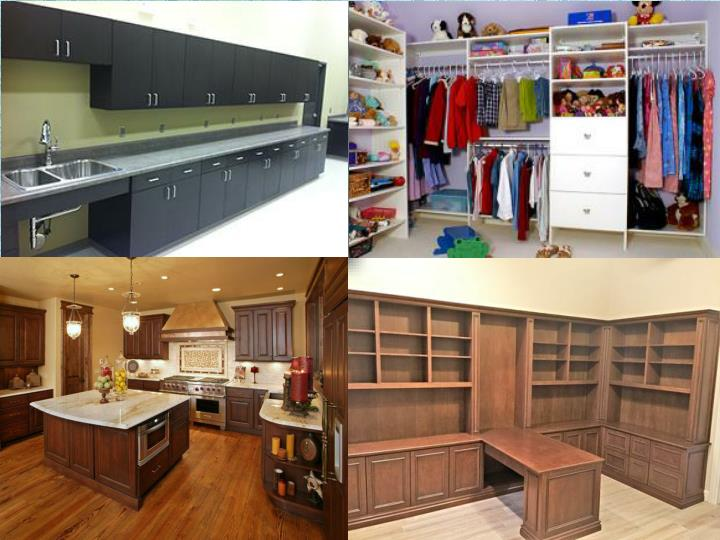 Stylish cabinets