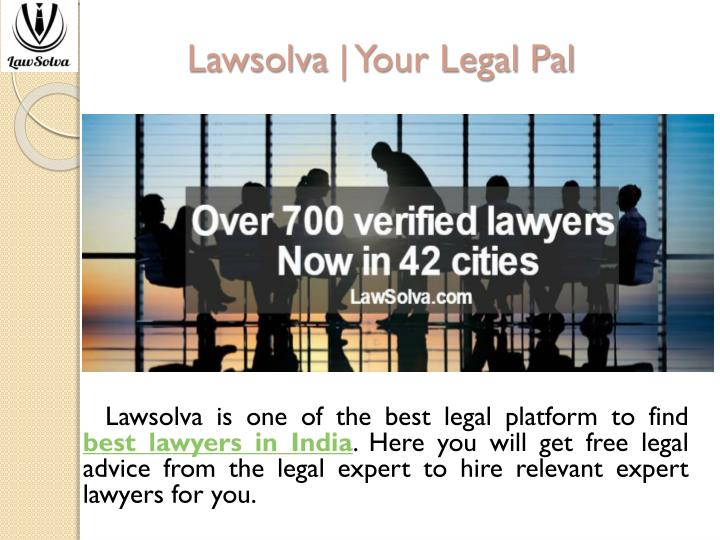 Lawsolva your legal pal
