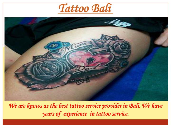 Tattoo Bali