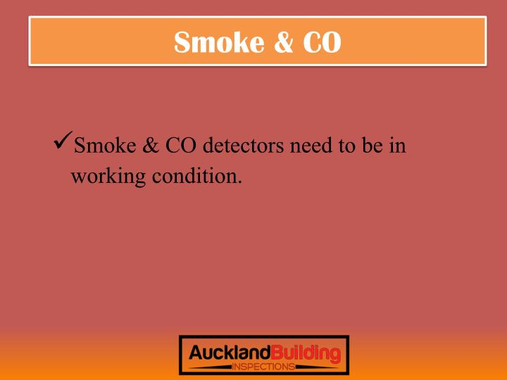 Smoke & CO