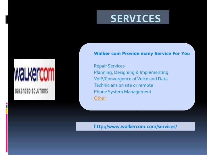 Walker com Provide many Service For You