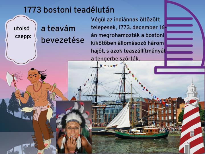1773 bostoni teadélután