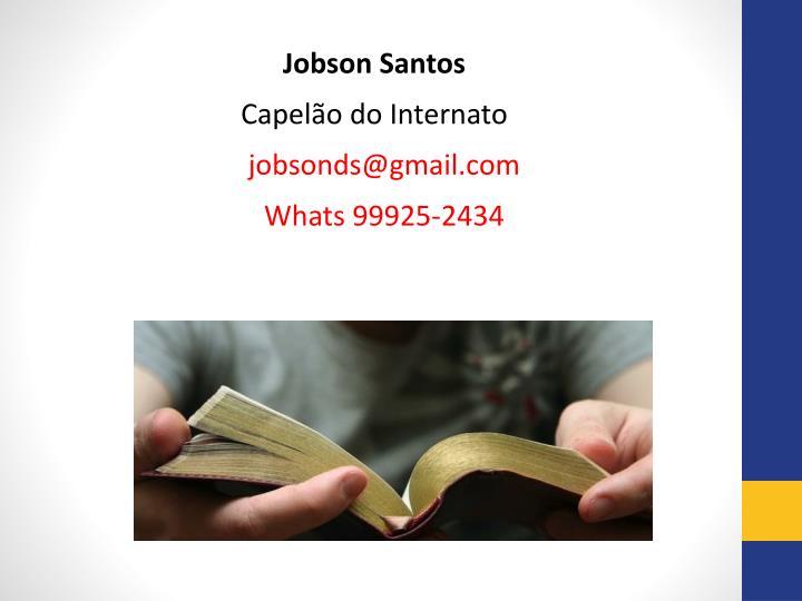 Jobson Santos