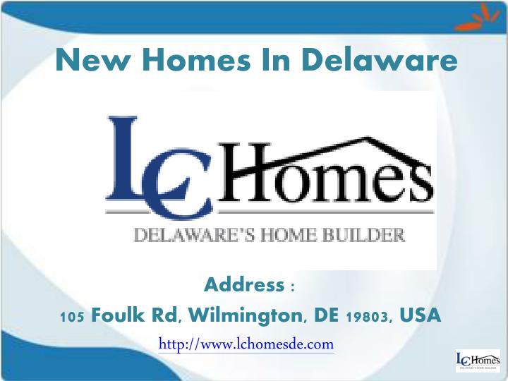 New Homes In Delaware