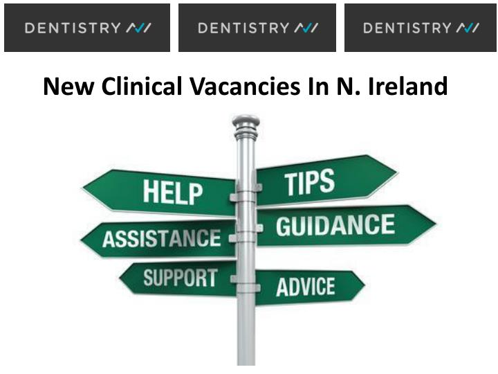 New Clinical Vacancies In N.