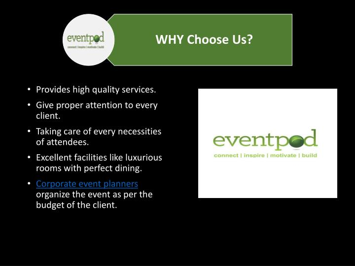 Provides high quality services.