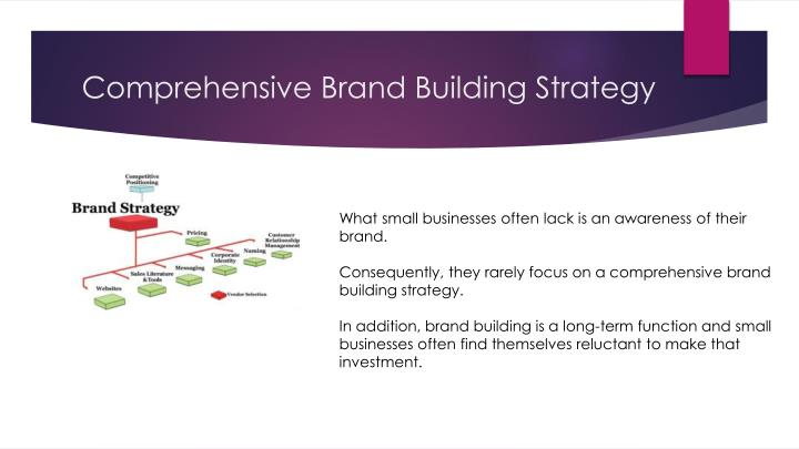 Comprehensive Brand Building Strategy