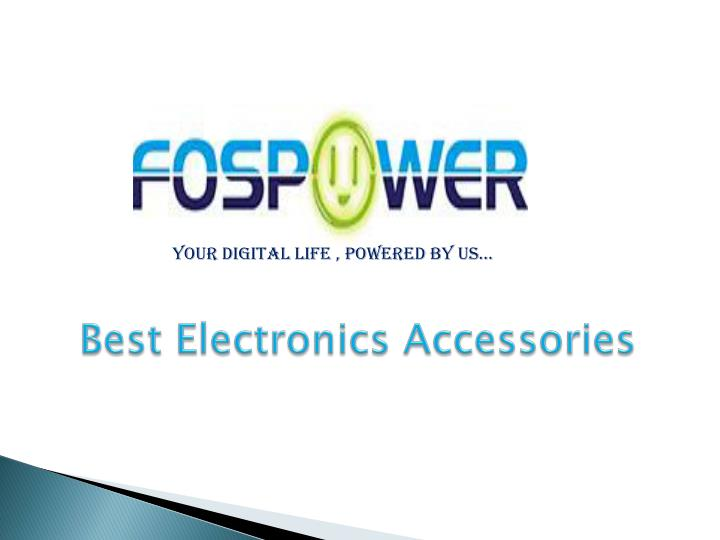Best electronics accessories