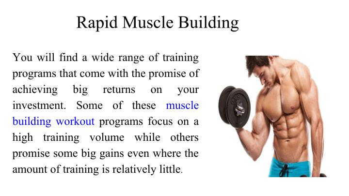Rapid Muscle Building