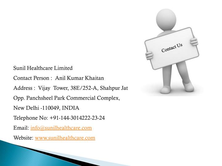 Sunil Healthcare Limited