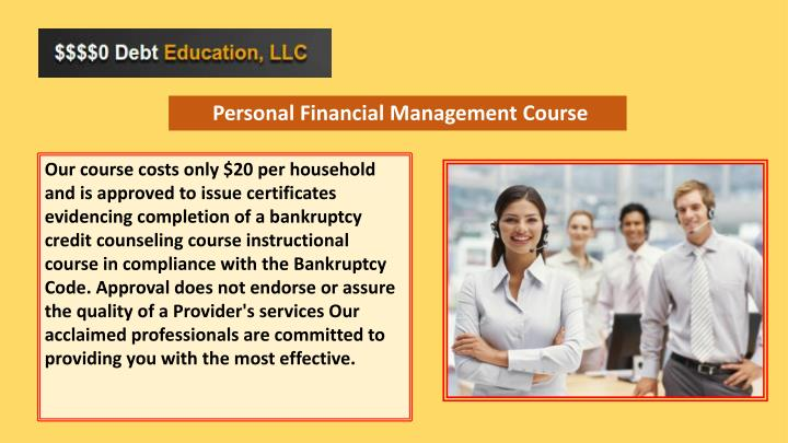 Personal Financial Management Course