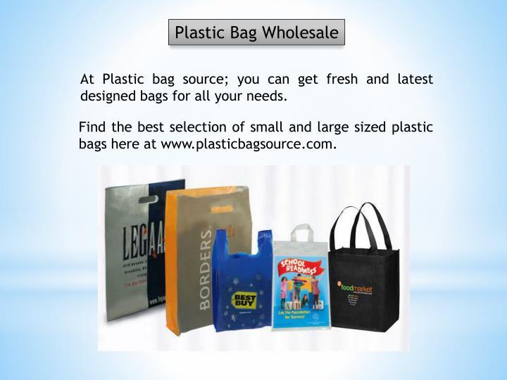 Plastic Bag Wholesale