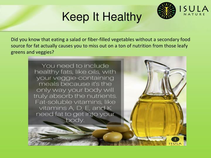 Keep It Healthy
