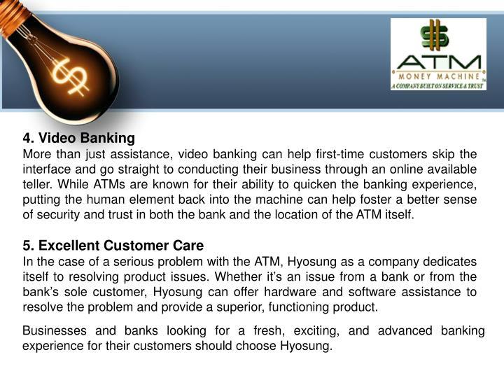 4. Video Banking