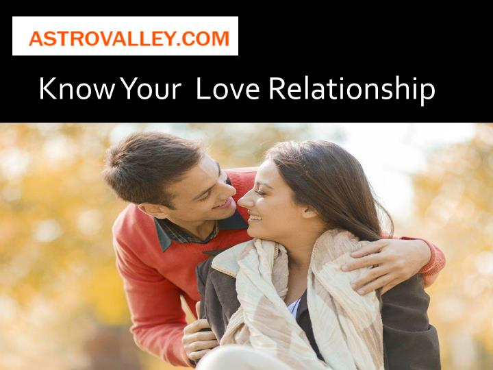 Know Your  Love Relationship