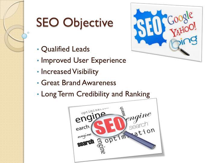 SEO Objective