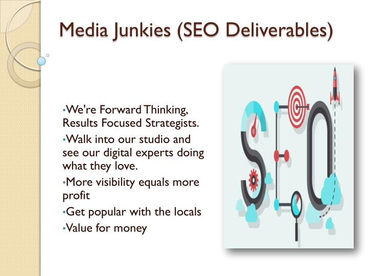 Media Junkies (SEO Deliverables)