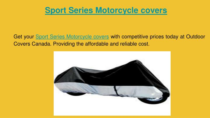 Sport Series Motorcycle covers