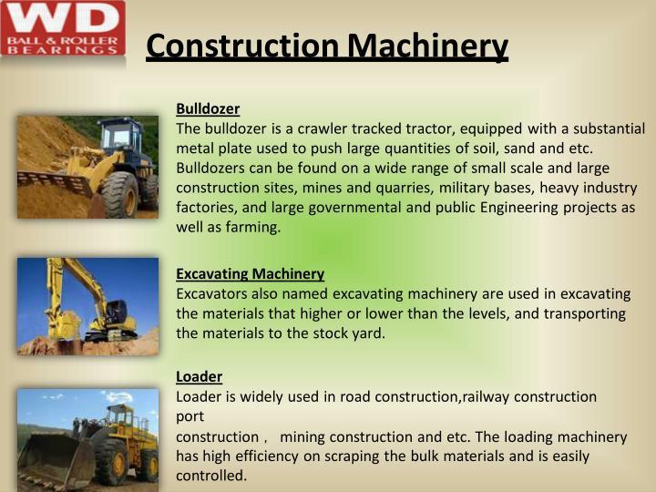 ConstructionMachinery