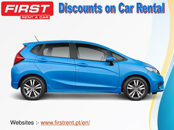 Discounts on Car Rental