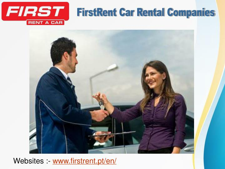 FirstRent Car Rental Companies