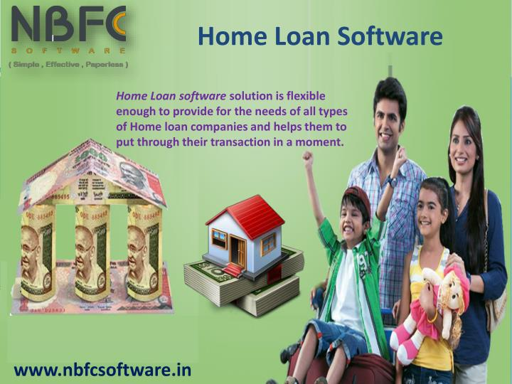 Home Loan Software