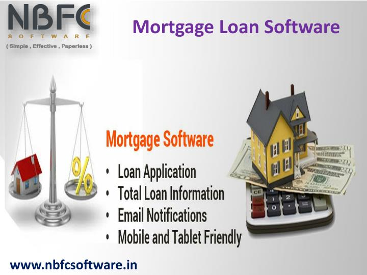 Mortgage Loan Software