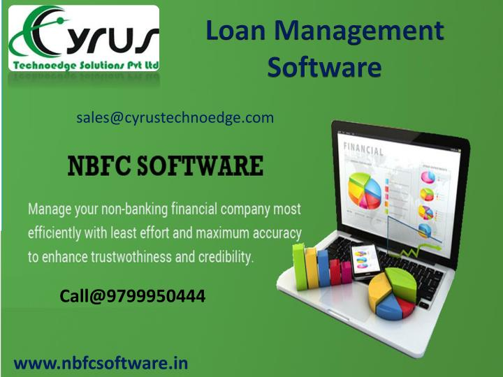 Loan Management Software