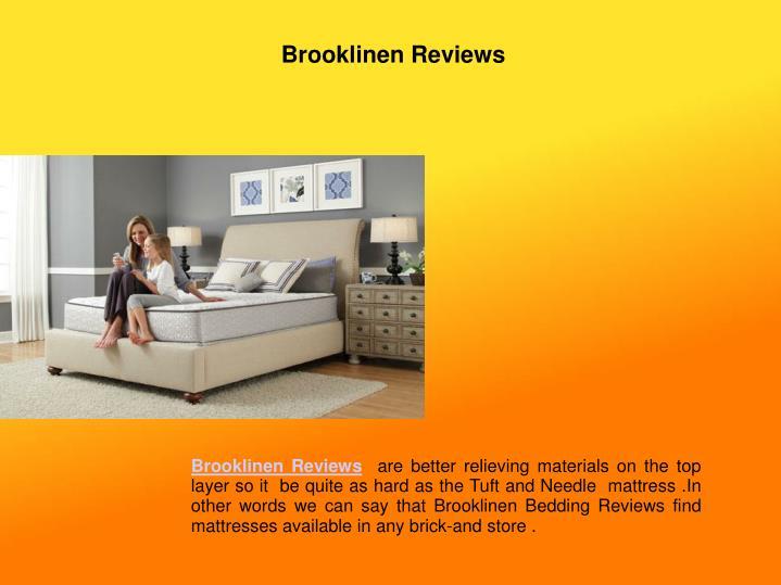 Brooklinen Reviews