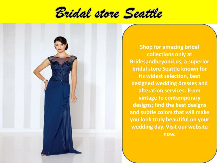 Bridal store Seattle