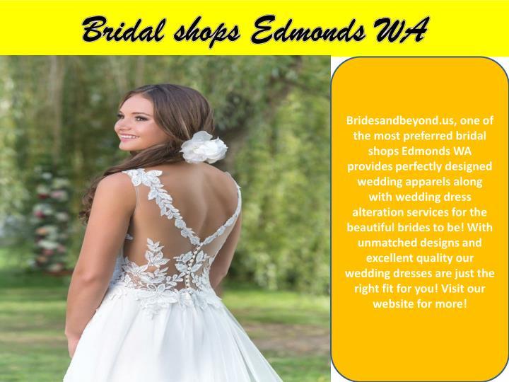 Bridal shops Edmonds WA