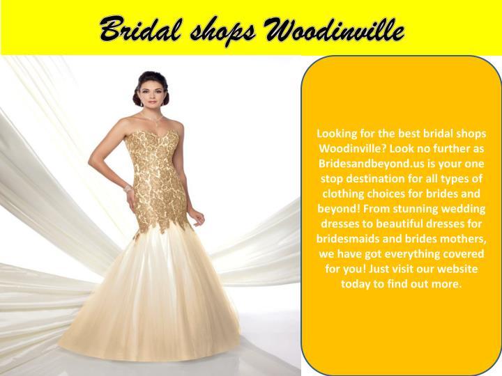 Bridal shops Woodinville