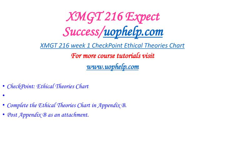 Xmgt 216 expect success uophelp com1