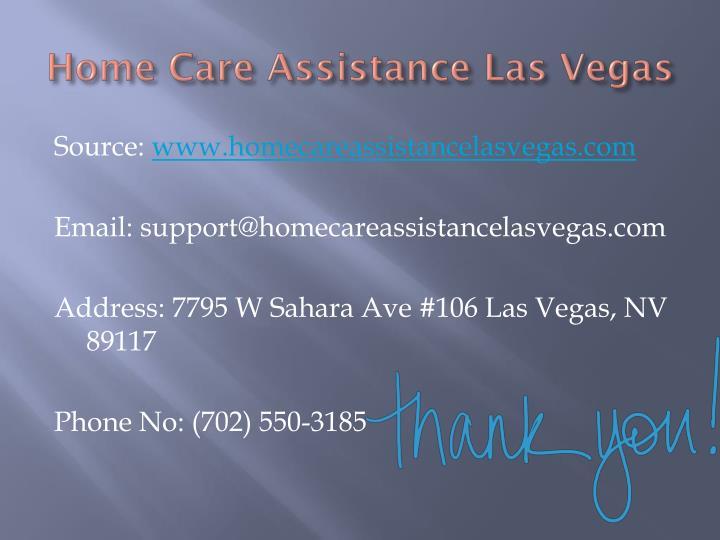 Home Care Assistance Las Vegas