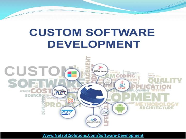 Custom software development by netsoft solutions