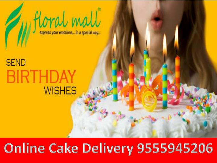 O nline cake delivery 9555945206