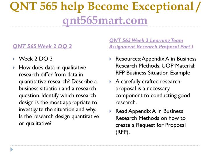 QNT 565 help Become Exceptional /