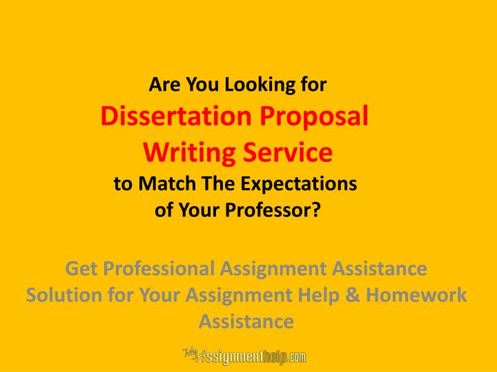 dissertation proposal writing service Writing a dissertation proposal is the first step towards profound work it is a huge challenge for every student, and our service is here to help with writing it.