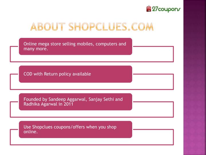 About shopclues.com