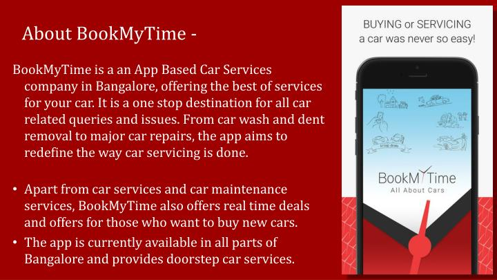 About BookMyTime -