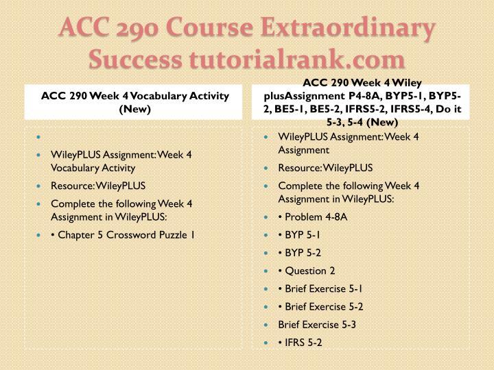 ACC 290 Week 4 Vocabulary Activity (New)