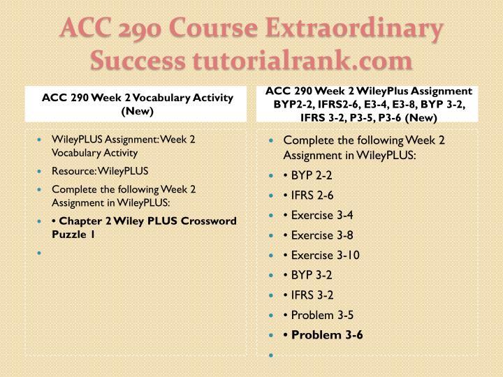 ACC 290 Week 2 Vocabulary Activity (New)