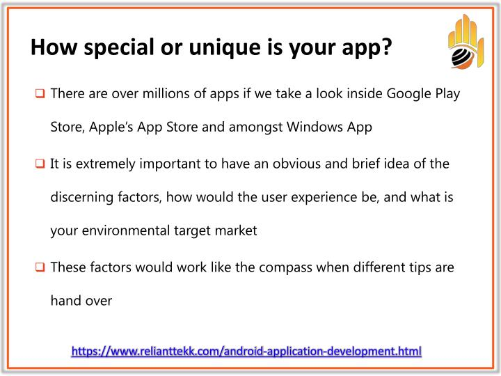 How special or unique is your app?