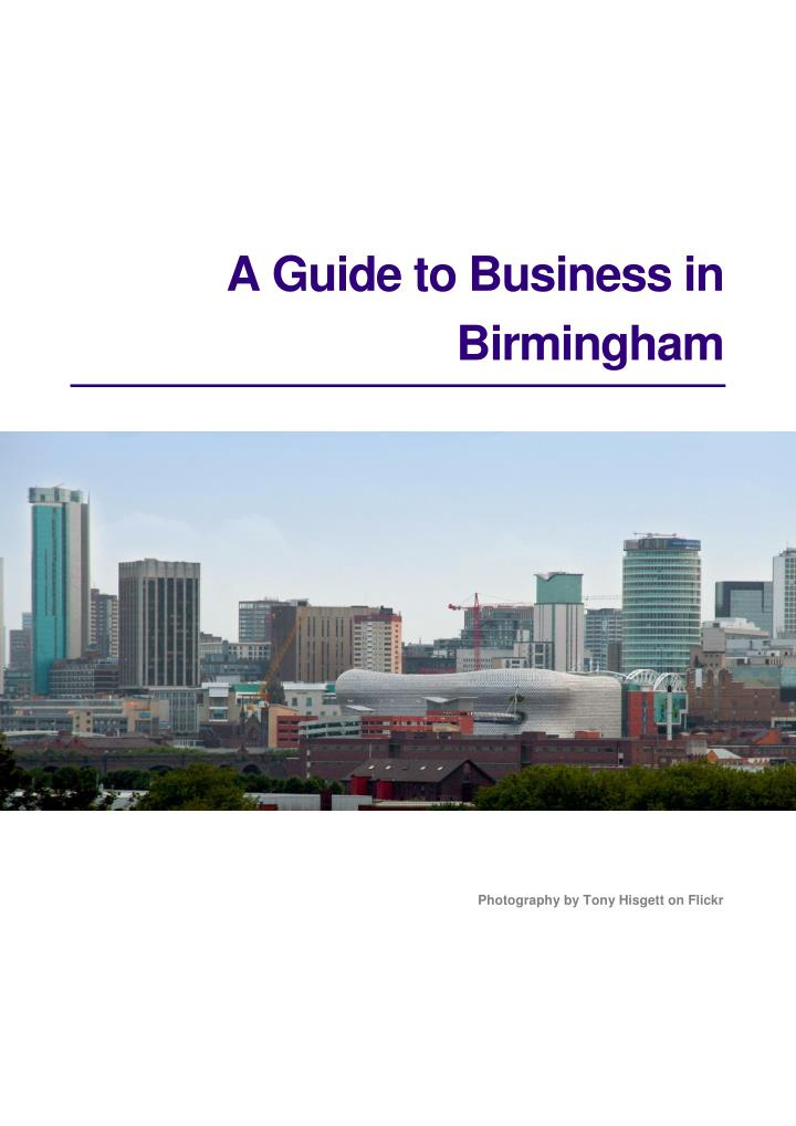 A Guide to Business in