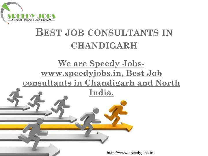 Best job consultants in