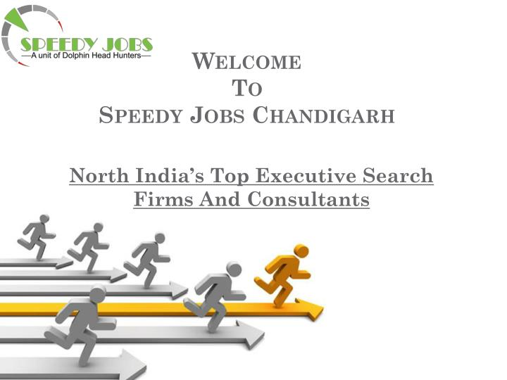 welcome to speedy jobs chandigarh